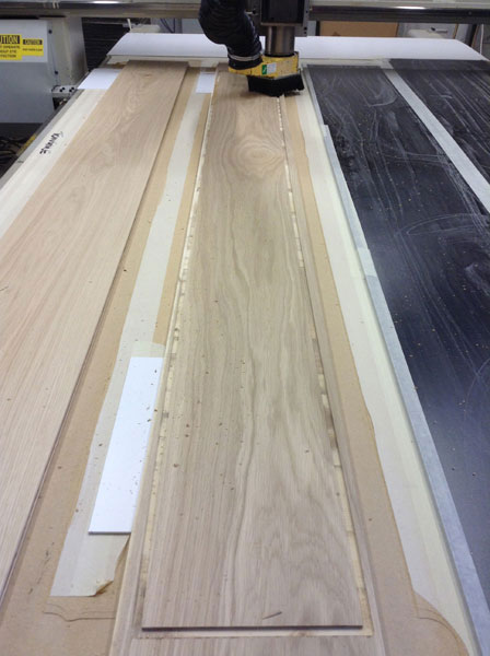 engineered cnc wood floor