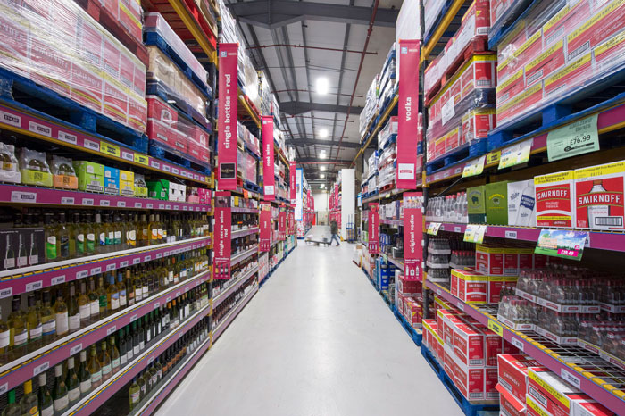 cash and carry aisle banners