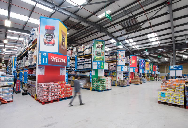 wholesale aisle display print