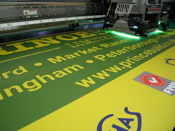 Digital print for site signage